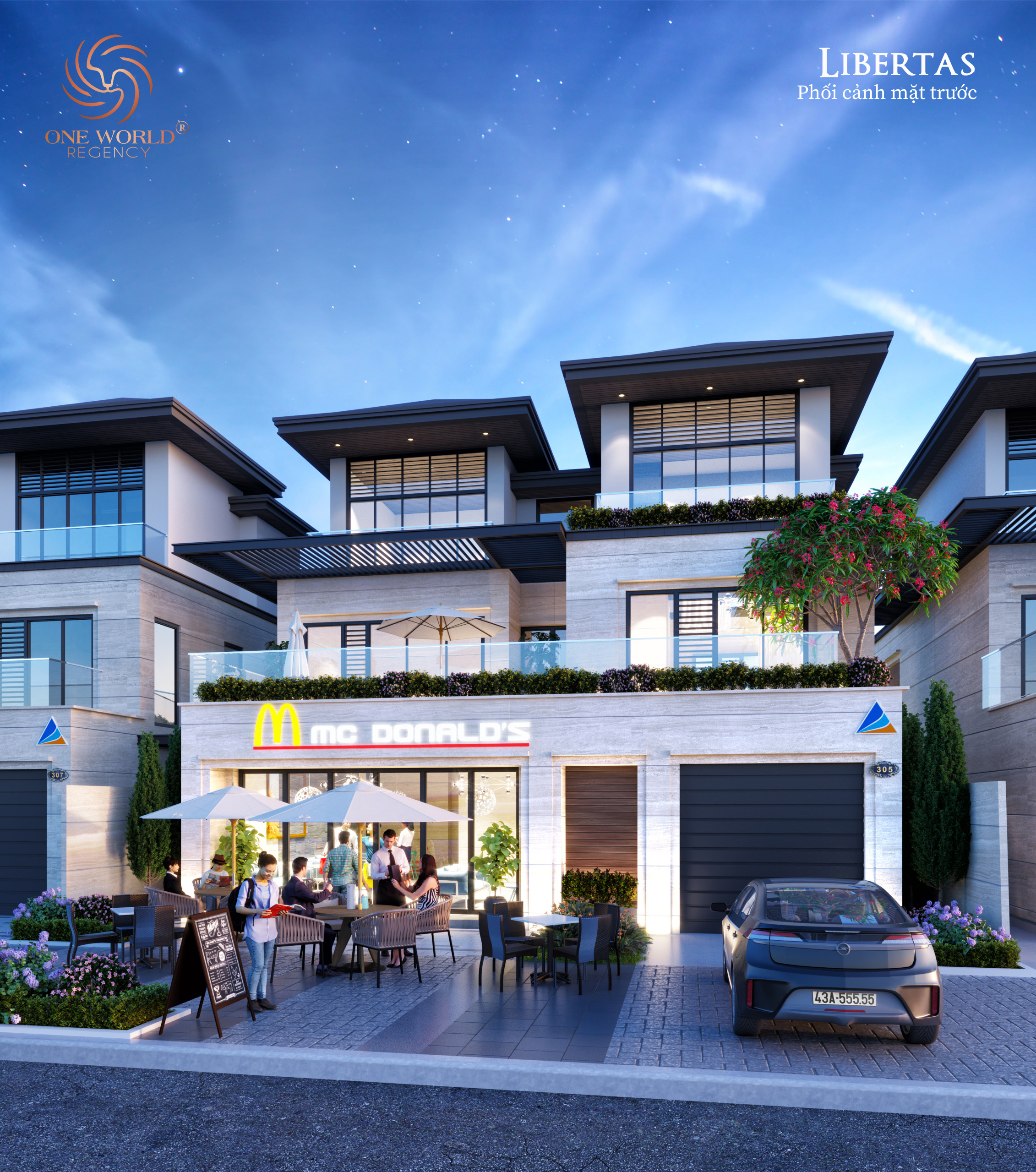 Villas Liberat One World View2